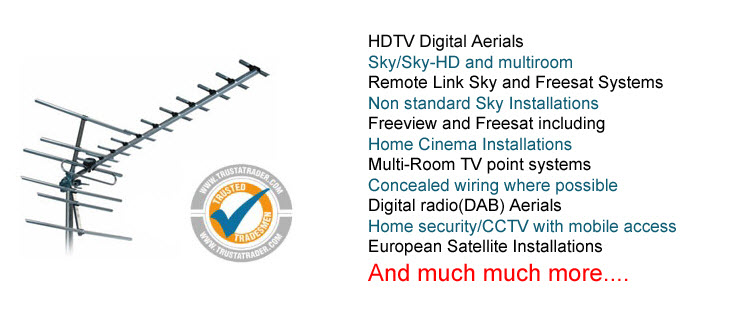 TV Aerial & Satellite Installations In Aylesbury